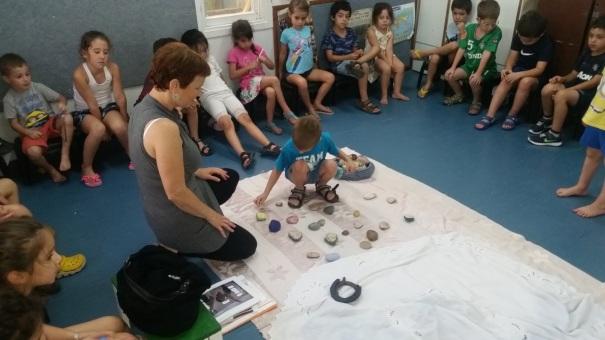 סדנת אבן זוהר בגן ילדים