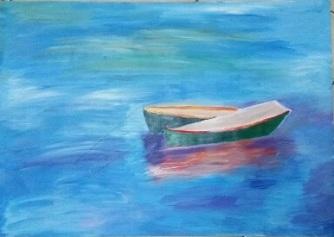 ציור בבת גלים 1