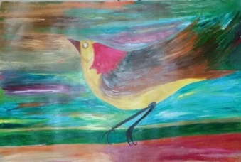 ציור בבת גלים 2