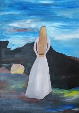 ציור בבת גלים 7