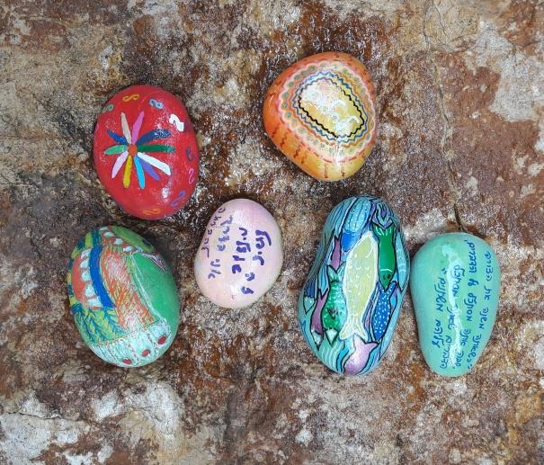 תוצרי הסדנא- אבן זוהר כקמע אישי